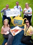 Blooming Great Tea Party - Cheque Handover 2